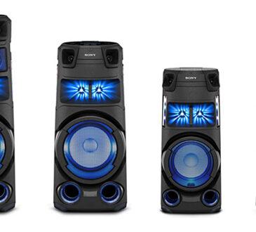 Sony presenta la nueva Serie V de sistemas de audio de alta potencia para llevar la música a otro nivel. El sistema V3D, cuenta con sonido omnidireccional