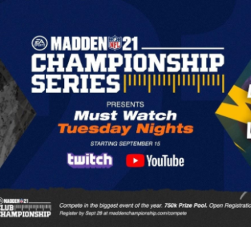 Electronic Arts Inc., y la National Football League (NFL) anunciaron un nuevo formato para la EA SPORTS Madden NFL 21 Championship Series (MCS21)