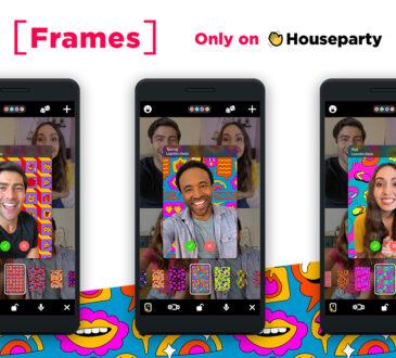 Houseparty lleva el videochat al siguiente nivel con [Marcos], una nueva función que te permite hacer más atractivo tu fondo de artistas elegidos