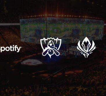 Riot Games y Spotify anunciaron una asociación por varios años para los eventos mundiales de esports de LoL empezando este 25 de Septiembre