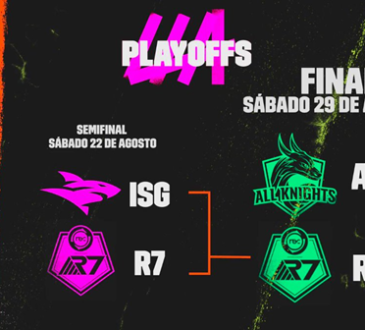 El sábado 29 de agosto se llevará a cabo la final de la Liga Latinoamérica Clausura de League of Legends (LLA) que enfrentará a All Knights y Rainbow 7