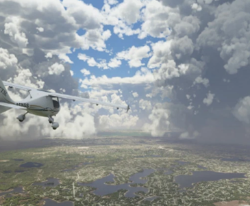 simlador de vuelo microsoft