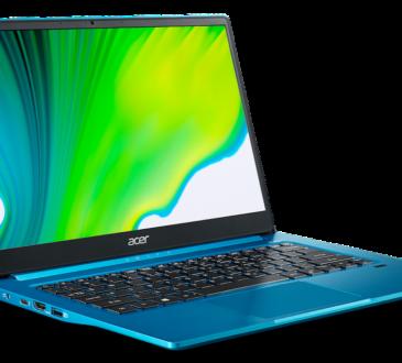 Acer anunció la disponibilidad de los nuevos modelos de notebook Swift 5 y Swift 3 con nuevos procesadores Intel Core de 11ma generación