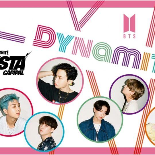 """Epic Games anunció una alianza con BTS para estrenar el video musical con coreografía de """"Dynamite"""" en el Escenario Principal de Fiesta Campal en Fortnite."""