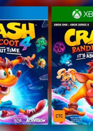 Activision y Toys For Bob lanzaron el nuevo tráiler de lanzamiento para Crash Bandicoot 4: It's About Time. saldrá a la venta para PlayStation 4 y Xbox One
