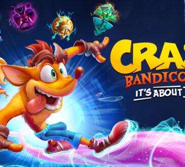 Los fanáticos que reserven digitalmente el nuevo juego de Crash Bandicoot, podrán disfrutar de un Demo el 16 de septiembre.