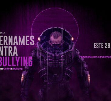 En el marco del Día Internacional del Gamer que se celebró el pasado sábado 29 de agosto, Pony Malta, lideró la iniciativa #UsernamesContraElBullying