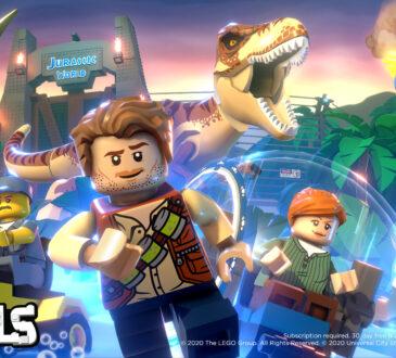 En colaboración con LEGO y Red Games, Universal Brands lanzará contenido de Jurassic World en LEGO Brawls, que está disponible en Arcade de Apple