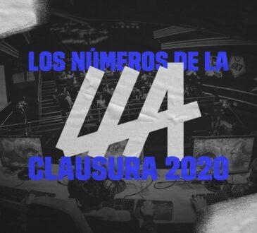La Liga Latinoamérica de League of Legends (LLA), que enfrentó a los 8 mejores equipos de Latinoamérica tuvo 7 millones de espectadores únicos durante la temporada Clausura 2020. Esto representó un incremento del 36% comparado con los números del Clausura 2019.