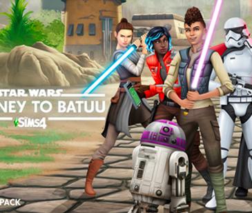 El Game Pack de Los Sims 4 Star Wars: Viaje a Batuu ya está disponible para PC y Mac a través de Origin y Steam, así como para Xbox One y PlayStation 4.
