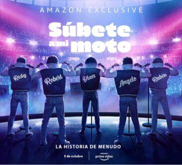 Amazon Prime Video anunció que Súbete A Mi Moto, la serie de 15 episodios sobre la historia del grupo puertorriqueño Menudo