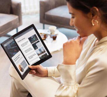 Lenovo anunció la más reciente incorporación a su portafolio X1 de dos modelos premium: la ThinkPad X1 Nano y la nueva ThinkPad X1 Fold
