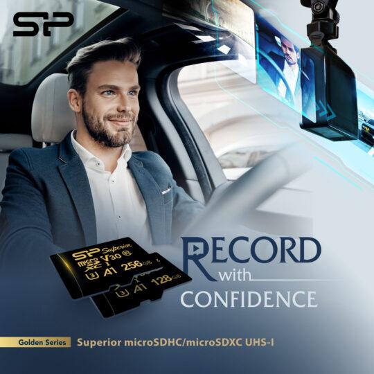 La nueva tarjeta de memoria Golden Series Superior microSDXC de Silicon Power es la solución ideal para tareas de vigilancia