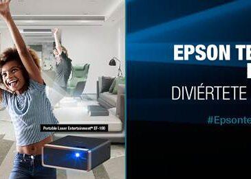 """Epson presenta, en alianza con Nexsys, la nueva iniciativa """"Epson te mueve en casa"""" un espacio en el que los colombianos podrán disfrutar tiempo en familia."""