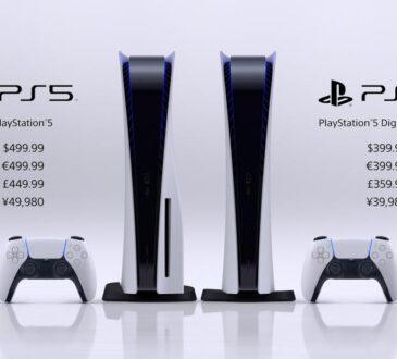 Sony anunció hoy la fecha de lanzamiento y los detalles del precio de su muy esperado sistema de videojuegos de próxima generación, PlayStation5.