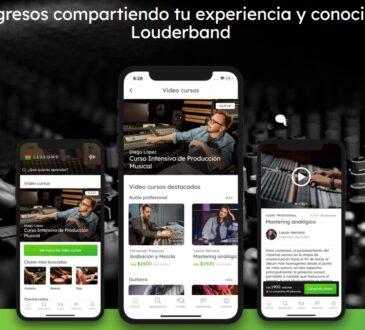 Louderbandes que se trata de una app especialmente pensada por y para músicos, que aprovecha el conocimiento cotidiano para ofrecer soluciones reales.