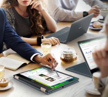 Acer anunció su nueva notebook convertible Spin 7 que ofrece una nueva y audaz visión de la productividad, con conectividad 5G ultrarrápida