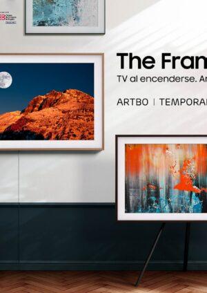 Samsung, con su televisor The Frame -parte de la línea Lifestyle TV- se alió con la Cámara de Comercio de Bogotá y su feria internacional de arte ARTBO.