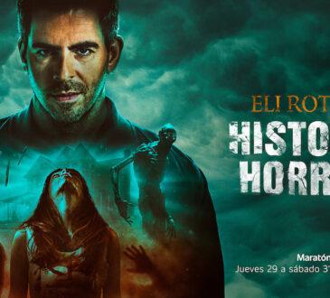 """Eli Roth, regresa a AMC para develar todos los misterios que esconde el género con el estreno de la segunda temporada de """"Eli Roth's History of Horror""""."""