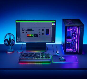 Razer anunció un controlador RGB junto a nuevos accesorios equipados con Razer Chroma RGB para potenciar el setup de cada gamer.