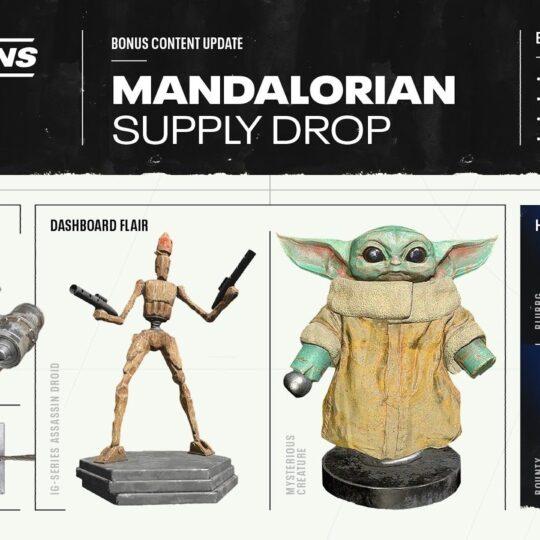 Star Wars: Squadrons recibirá una actualización de contenido sorpresa, con artículos de la serie de Lucasfilm The Mandalorian, exclusiva de Disney+.