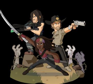 Ubisoft anuncia que Michonne, Rick Grimes y Daryl Dixon de The Walking Dead de AMC ya están disponibles en Brawlhalla como Crossovers Épicos.