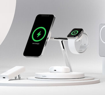 Belkin anunció cuatro nuevos productos en sus categorías de energía móvil, protección de pantalla y accesorios diseñados para los nuevos iPhone 12