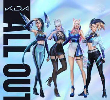 Riot Games confirmó que el próximo 6 de noviembre, en todas las plataformas digitales, estará disponible el nuevo EP del grupo de K-pop K/DA, 'ALL OUT'.