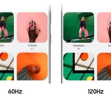 Samsung presentó la serie de dispositivos Galaxy S20, que incorporaron una característica poco conocida, la tasa de refresco de 120 Hertz (Hz)