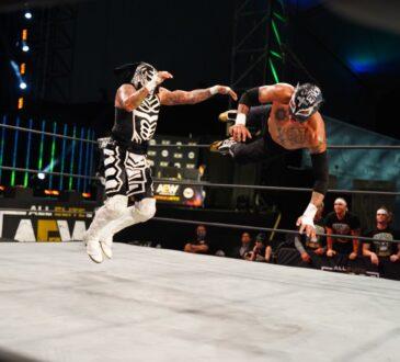 Todos los domingos, a partir del 22 de noviembre, a las 12.30 horas, SPACE presenta en exclusiva para Latinoamérica el estreno de All Elite Wrestling (AEW).