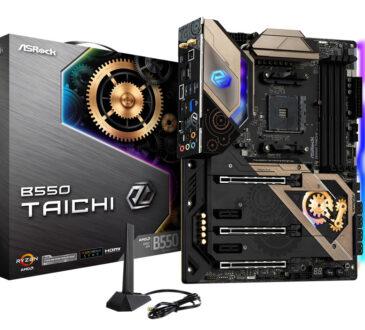ASRock,anunció la llegada a Colombia de las nuevas motherboards B550 Taichi, compatibles con los procesadores de escritorio AMD Ryzen