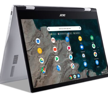 Acer lanzó su primera Chromebook con tecnología de la plataforma informática Qualcomm Snapdragon 7c: la Acer Chromebook Spin 513.