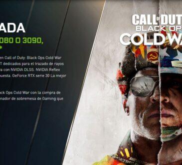 El último driver GeForce Game Ready prepara a los jugadores para garantizar el máximo rendimiento y un juego fluido en Call of Duty: Black Ops Cold War.