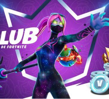 A partir del 2 de diciembre, en Fortnite estará disponible el Club de Fortnite, la oferta de suscripción definitiva para obtener contenido imperdible.