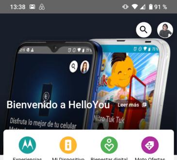 Hello You ya está disponible en Colombia en los smartphones lanzados el pasado 15 de septiembre: moto g9 plus, moto g9 play y moto e7 plus.