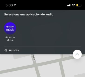 Amazon Music se integra de forma perfecta a la plataforma de Waze, lo que permitirá al usuario seguir escuchando su música sin salir del mapa.