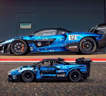 Extremo hasta el fondo como su icónico homólogo de la vida real, el nuevo LEGO Technic McLaren Senna GTR ofrece la máxima emoción.