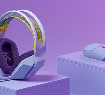 Logitech G presenta una nueva colección de equipos que promueve la autoexpresión y el lado divertido de los juegos. Donde llegan mouse y auriculares.