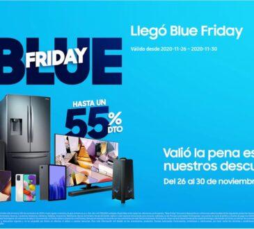 Contribuyendo a la reactivación económica del país como al bolsillo de los colombianos, Samsung Colombia lanza Blue Friday del 26 al 30 de noviembre.