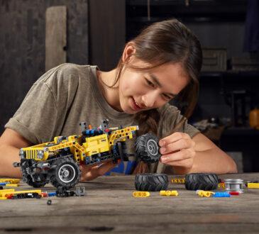 La marca Jeep y el Grupo LEGO revelaron el nuevo modelo LEGO Technic, el insuperable Jeep Wrangler Rubicon.