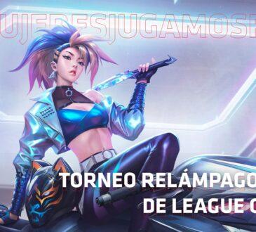 Desde el pasado lunes 21 de diciembre, comenzó el primerTorneo Relámpago Femenino de League of Legends y último torneo del año de la AMD Red League