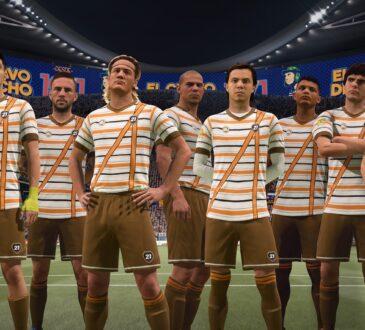 El Chavo del 8 y Quico estarán representados en EA SPORTS FIFA 21 con sus uniformes y diversos elementos del estadio como banderas, tifos y vallas.