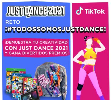 Ubisoft invita a los Just Dancers a participar en el reto #TodosSomosJustDance de la mano de nuestras embajadoras Nadyasonika, Lorena Mikii y Agostina Ochoa