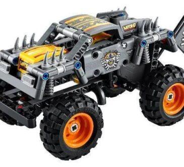 LEGO para cerrar este 2020, anuncia el lanzamiento de sus modelos Monster Jam Max-D y Monster Jam Grave Digger.