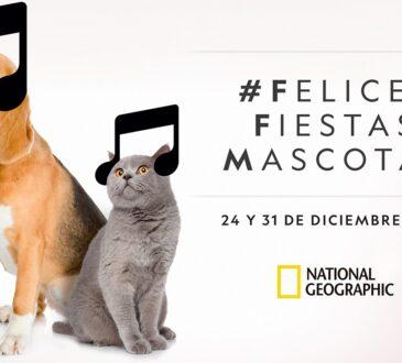 El 24 y 31 de diciembre a partir de las 11:45 PM, National Geographic presenta la cuarta edición de Felices Fiestas, Mascotas, una exitosa iniciativa de programación creada en 2017