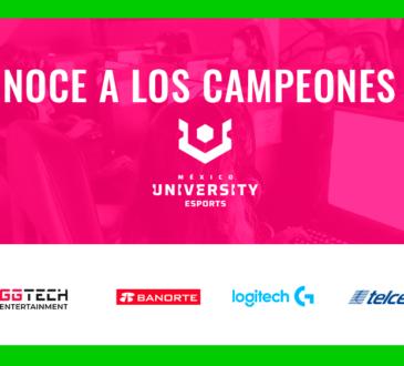 La primera edición de UNIVERSITY Esports, llegó a su fin el pasado viernes 18 de diciembre, con una emocionante semana de finales entre las mejores universidades mexicanas.