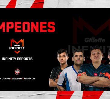 Gillette Infinity Esports se consagró campeón de la Región Norte de La Liga Pro The Walking Dead: World Beyond de Counter Strike.