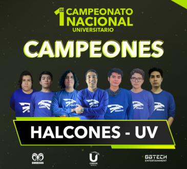 """El pasado 12 de diciembre, los Halcones de la Universidad Veracruzana se llevaron el primer lugar ante el equipo del Tec de Monterrey """"La Resistencia"""" durante la Gran Final del 1er Campeonato Nacional Universitario de League of Legends"""