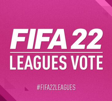 Más de 100.000 aficionados de la FIFA han votado por las ligas que quieren que se les haya concedido la licencia en el videojuego EA Sports FIFA 22.