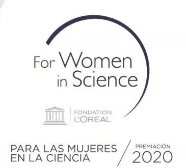 """El programa """"Para las Mujeres en la Ciencia"""" premió a 14 mujeres a través de un evento virtual en el que participó Mabel Torres, Ministra de Ciencia."""